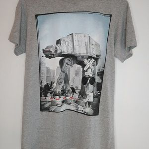 Star Wars At-At Crossing Unisex Graphic Tee